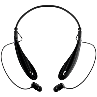 LG Tone Ultra Bluetooth Stereo Headset - Black