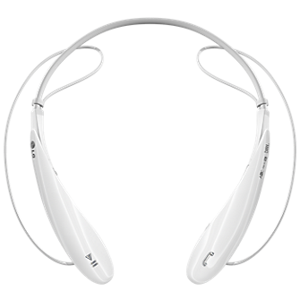 LG Tone Ultra Bluetooth Stereo Headset  (White)