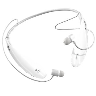 LG Tone Ultra Bluetooth® Stereo Headset - White