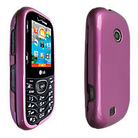 Hard Cover for LG Cosmos 3 - Pink