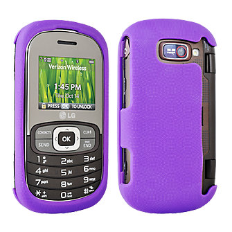 Snap On Silicone Covers for  LG Octane - Purple