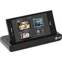Desktop Charger & Standard Battery for LG Spectrum 2