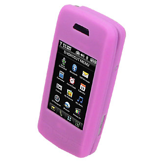 Silicone Cover for LG Voyager - Pink