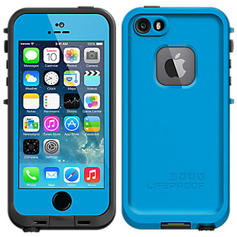 LifeProof Fré Case for iPhone 5/5s - Cyan