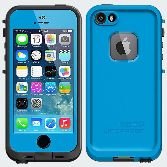 LifeProof Fré Case for iPhone 5/5s - Cyan - Blue