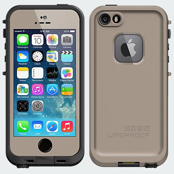 LifeProof Fré Case for iPhone 5/5s - Flat Earth