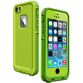 fre Case for iPhone 5/5s - Lime Green