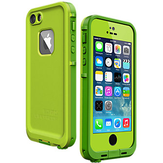 LifeProof fre Case for iPhone 5/5s - Lime Green