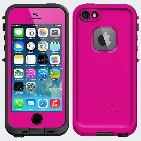 LifeProof Fré  Case for iPhone 5/5s - Magenta - Pink