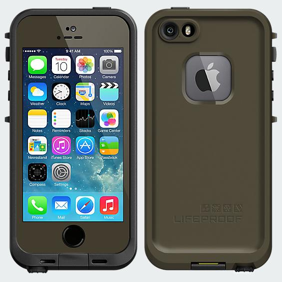 LifeProof  Fré Case for iPhone 5/5s - Olive Green
