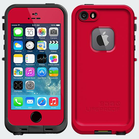 LifeProof Fré  Case for iPhone 5/5s - Red