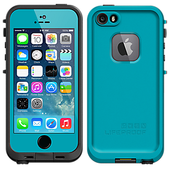 sports shoes 6f164 4171d Lifeproof Fre Case for iPhone 5/5s – Teal | Phone Carriers