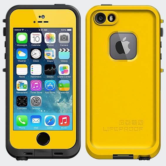 LifeProof Fré  Case for iPhone 5/5s - Yellow