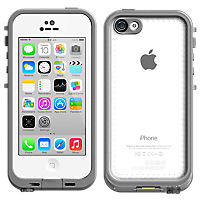 LifeProof fre Case for iPhone 5c - White