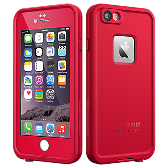 LifeProof fre Case for iPhone 6 - Redline Red