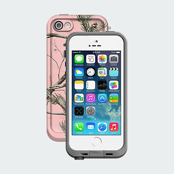LifeProof fre for iPhone 5s - Real Tree Pink