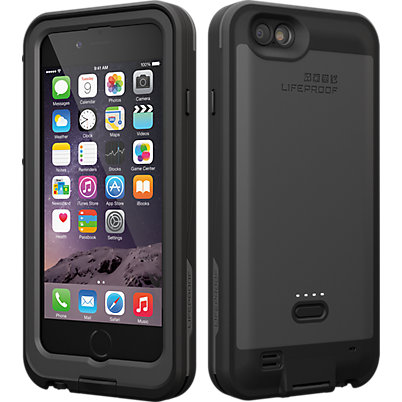 LifeProof FRE Power Case for iPhone 6 - Blacktop