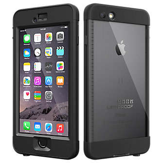 LifeProof nuud for iPhone 6 - Black