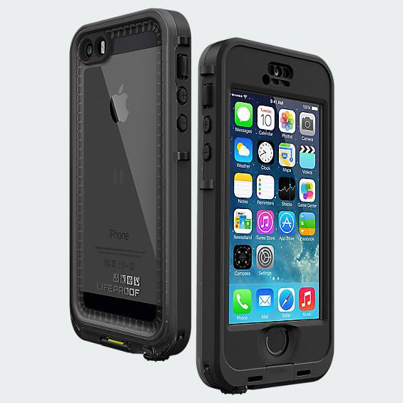 LifeProof Nüüd Case for iPhone 5/5s - Black