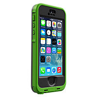 LifeProof nuud Case for iPhone 5/5s - Lime/Smoke