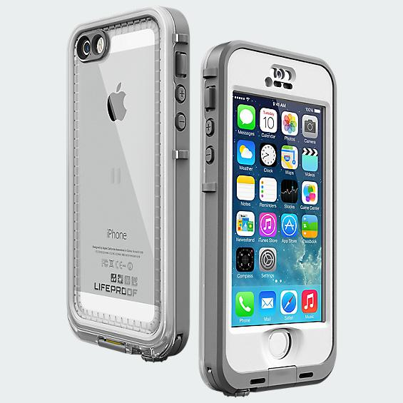 LifeProof Nüüd Case for iPhone 5/5s- White