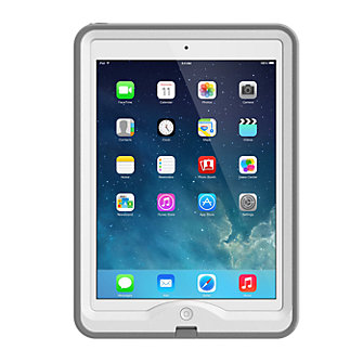 LifeProof nuud Case for iPad Air - White