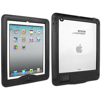 LifeProof Waterproof iPad Nüüd Case -Black/Black