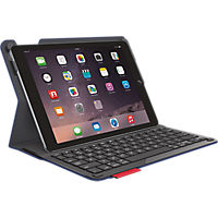 Logitech Type + Protective Case with Integrated Keyboard for iPad Air 2 - Blue