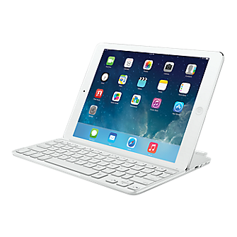 Logitech Ultrathin Keyboard Cover for iPad Air - White
