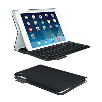 Logitech Ultrathin Keyboard Folio for iPad mini with Retina display - Carbon Black