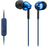 Sony StepUp EXSeries In-Ear Headphones - Blue