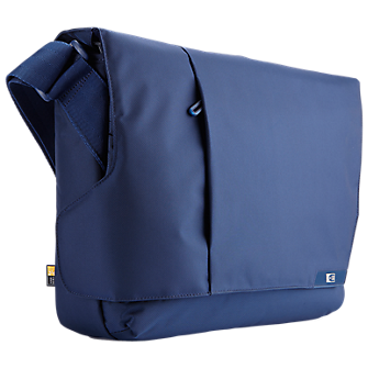 Case-Logic Messenger Carrying Case for 14 inch Tablets and Notebooks - Blue