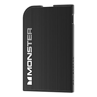 Monste Mobile PowerCard - Slate Black