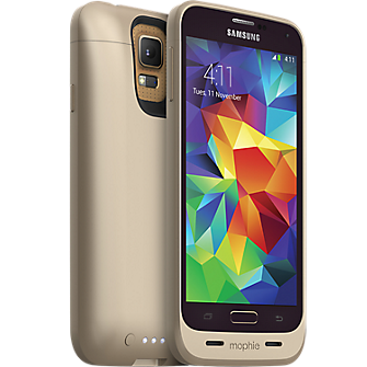juice pack for Galaxy S5 - Gold