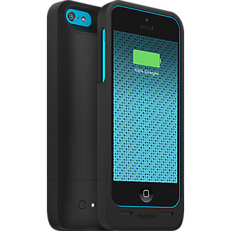 mophie juice pack helium for iPhone 5c - Black