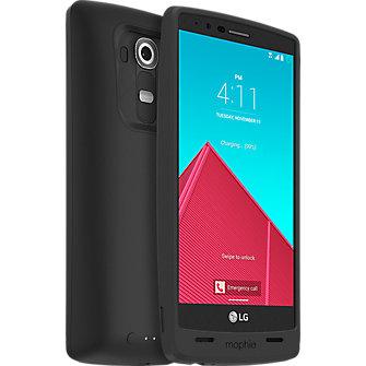 mophie juice pack for LG G4 - Black