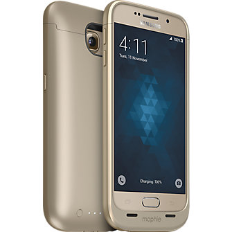 mophie juice pack for Samsung Galaxy S 6 - Gold