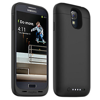 mophie juice pack for Samsung Galaxy S 4, 2300mAh - Black