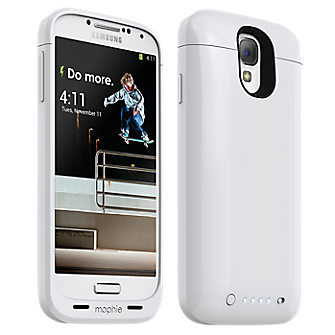 mophie juice pack for Samsung Galaxy S 4, 2300mAh - White