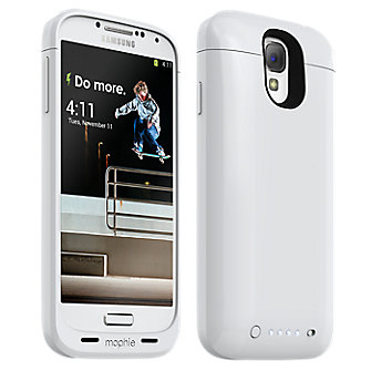 mophie juice pack for Samsung Galaxy S® 4, 2300mAh - White