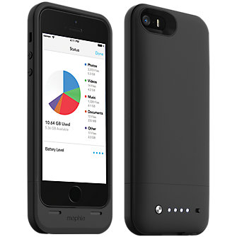 mophie space pack for iPhone 5/5s - 16GB Black