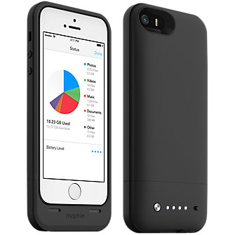 mophie space pack for iPhone 5/5s - 32GB Black