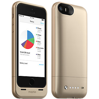 mophie space pack for iPhone 5s/5 - 16GB Gold