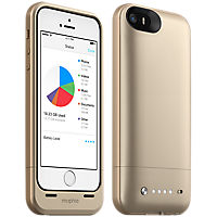 mophie space pack for iPhone 5s/5 - 32GB - Gold