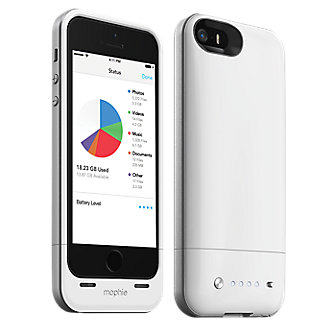 mophie space pack for iPhone 5s/5 - 16GB White