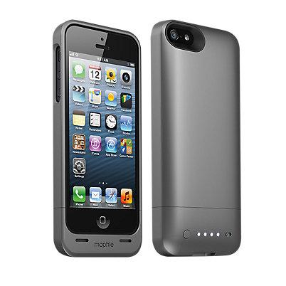 mophie juice pack helium for iPhone 5/5s - Gun Metal