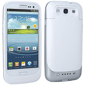 mophie juice pack for Galaxy S III - White