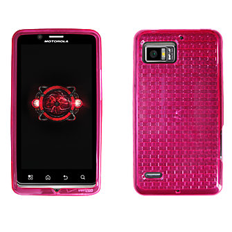 High Gloss Silicone Cover for Motorola DROID Bionic - Pink
