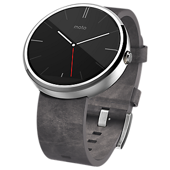 Moto 360 - Leather Band