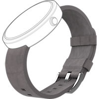Leather Band for Moto 360 - Stone
